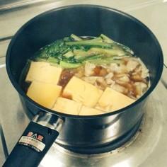 シンプル肉豆腐