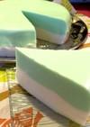 ペパーミント☆ヨーグルトケーキ…ムース?