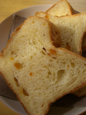 HBで★オレンジとクリームチーズのパン★