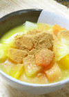 オーツ麦とフルーツのオレンジシナモン風味