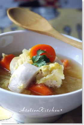 ごろんごろん野菜スープ@圧力鍋