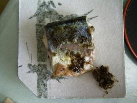魚のふき味噌焼き