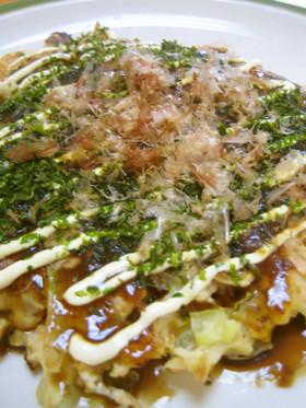 お豆腐お好み焼き✿ヘルシーツナ天