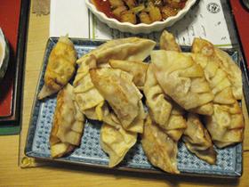 かき揚げ餃子/ジャン風味