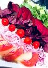 ビーツとアマランサス葉のサラダ
