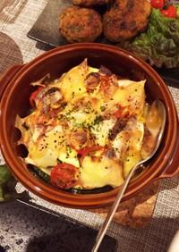 ズッキーニとミニトマトのチーズ焼き