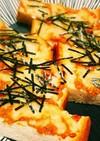 チーズがとろ~り♪スティック納豆トースト