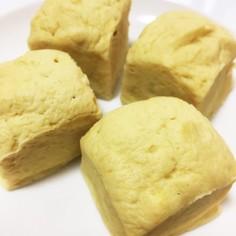 プロテイン蒸しパン