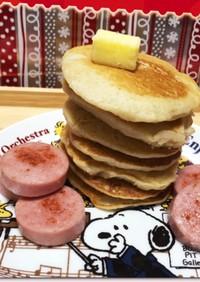 脂肪肝撃退作戦♪蓮根入りパンケーキ♡