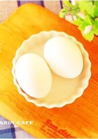 節約☆かたゆで卵&半熟卵と温泉卵