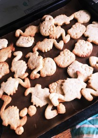 動物製品不使用!型抜きクッキー