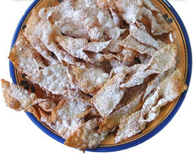 イタリアの揚げ菓子