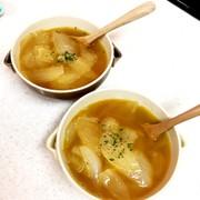 トロトロ甘い!簡単食べるオニオンスープの写真