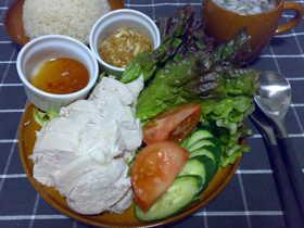 シンガポール料理☆海南鶏飯