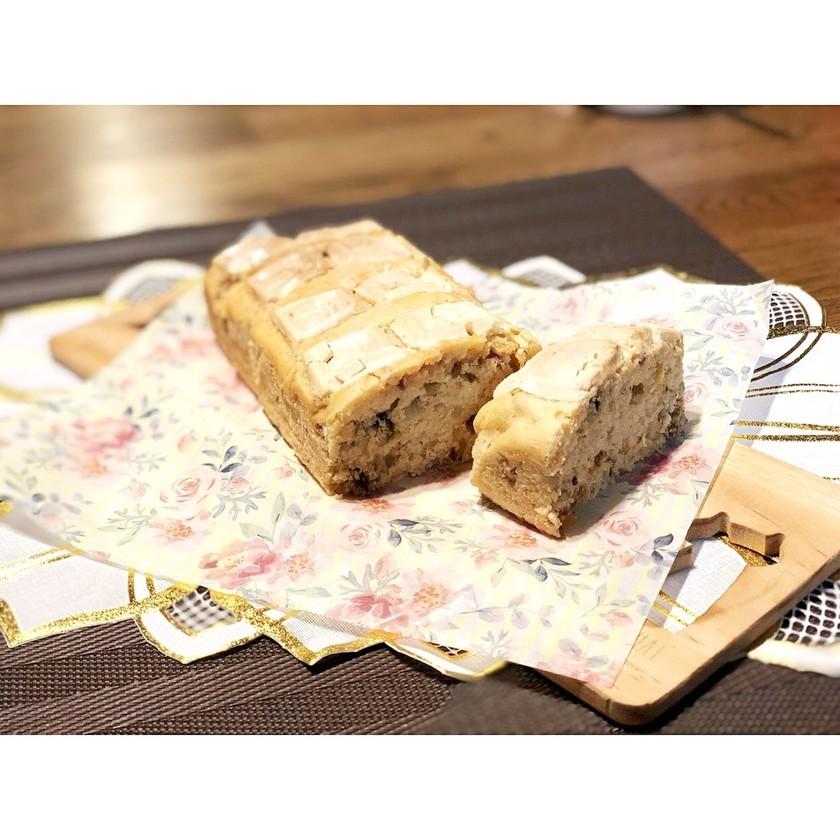 HMで簡単ローズソルトパウンドケーキ