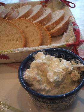 海老のクリームチーズ・ディップ