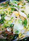 レタス入り! 野菜のキムチ炒め