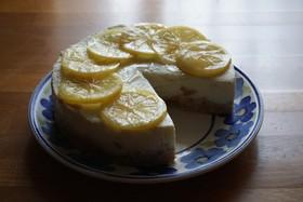 市販アイスでレアチーズケーキPart2