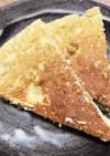 米粉とおからのバナナパンケーキ