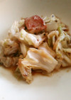 豆鼓味噌炒め、残り野菜をおいしく食べます
