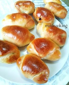 ♡朝食&軽食にレーズンバターロールパン♡