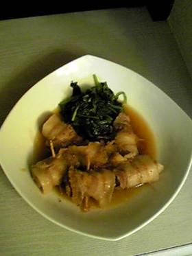 豚バラ薄肉の旨煮