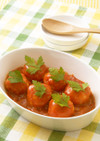 おからのミートボール トマトソース