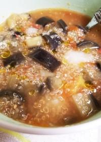 夏野菜とキヌアの簡単ヘルシースープ