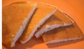 特別なホットケーキ「ドイツレシピ」