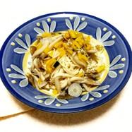 簡単アレンジ☆キノコのパスタ風素麺