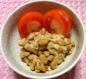 ★お気に入り★納豆&オリーブオイル♪