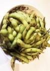 枝豆ガーリックソルト炒め