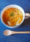 鶏の卵スープ