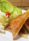 納豆のチーズ春巻き