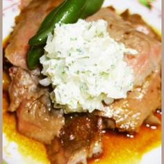 元ハンバーグ職人のステーキ用バターソース