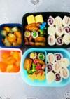 幼稚園(年中)双子のお弁当13