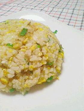 金だれで卵と葱の美味しいチャーハン☆