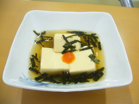 簡単♪ ☆あったか豆腐(汁も飲んでね)☆