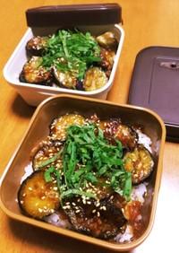 シンプル丼物♡茄子丼弁当