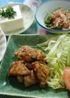 鶏モモの塩ダレ焼き(*^^*)♪