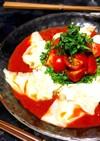 旨辛味噌の*冷しトマトワンタン麺*