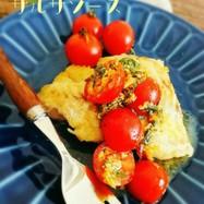 簡単!タラの夏野菜サルサソース
