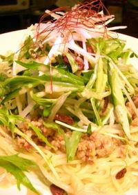 野菜たっぷり♪サラダ坦々麺