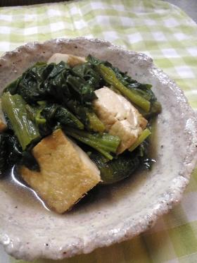 ✿高菜と厚揚げのしみじみ炒め煮✿