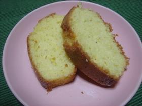 シナモンとほんのりレモン味パウンドケーキ