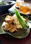 レンチンのみ☆鶏肉とねぎの梅肉煮