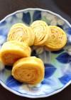 お弁当に☆ バームクーヘン風 卵焼き