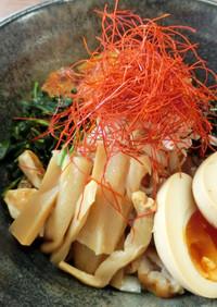 【糖質制限】パリパリ皮の鶏油そば・大豆麺