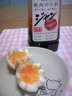 簡単♪焼肉のたれ「ジャン」で味付け卵
