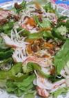 サッポロ一番、冷やし中華風サラダ麺